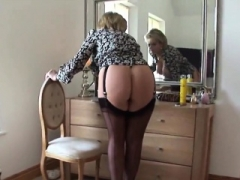Cheating english aged dame sonia pops out her large hooters