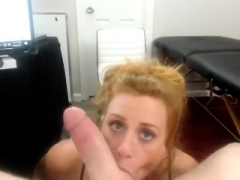 Large ass blonde in pov doggystyle