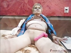 OmaGeiL Non-professional Granny Slideshow Images Collection