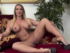 Kay Ortega gives bj on a big fuck tool