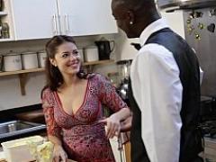 Sucer une bite, Queue, Nourriture, Interracial, Cuisine, Mère que j'aimerais baiser, Chevaucher, Suçant