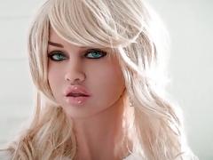 HOT blonde breasty sex doll, cock sucking rectal deepthroat fantasies