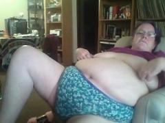 Breasty Spearmint Rhino Strippers Masturbate Solo
