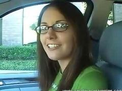 Tracy Internal cumshot