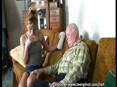 Senior fucks a 18-19 year old nurse