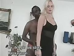 Interracial porn videos, black dicks in tight white pussies