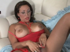 Hot bigtitted teacher gets penetrated by her student