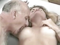 sugar grandpa having an intercourse