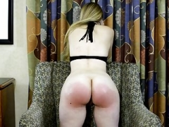 Spanking vids for free, girls spanked with hands and gear