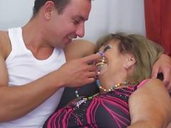 Bigtit granny & mother gets hard sex