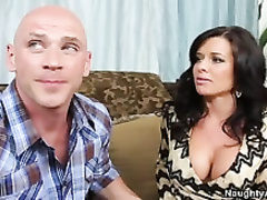 Veronica avluv invites johnny over and pokes his phat boner