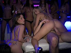 Spectacular sexy party