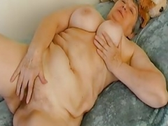 OmaHoteL Over-and-above Hairy Granny Delicious Striptease