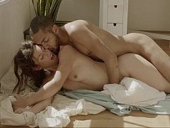 Naked couples engage in satisfying hardcore sex