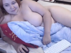 Teenage large boobs large tush Frankie heads down
