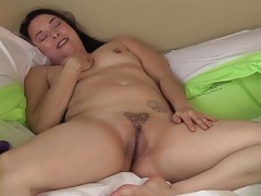 Yanks Brunette Mom i`d like to fuck Ayelisa Masturbates
