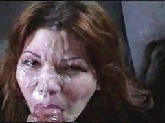 Inexperienced face cumshot huge load