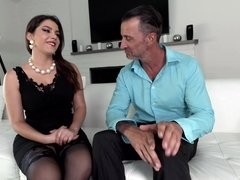 Pretty dame gives everything that her gentleman wanted