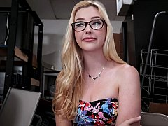 Samantha Rone visits my backroom office