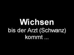 Handjob, Wichsen Bis Der Arzt (schwanz) Kommt, German