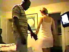 Blonde White Wife With Black Guys - Homemade Interracial Cuckold