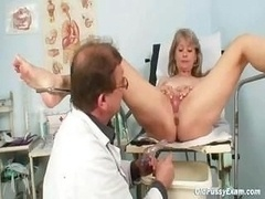 Grown-up Alena gyno pussy really clinic review