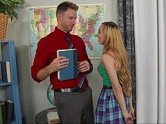 Handsome teacher of her dreams