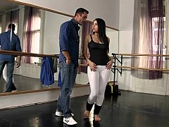 The workout for Valentina Nappi