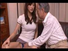 Asiatisch, Besamung, Japanische massage