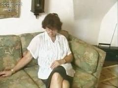Charming Granny Jerking off