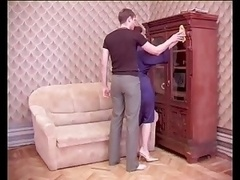 Russian mom and besides Son