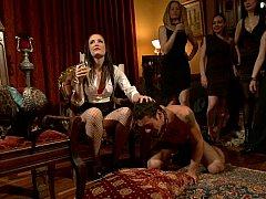 Braunhaarige, Domination, Frau, Weibliche domination, Herrin