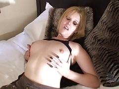 British slut Shay Hendrix gets fucked in fishnets