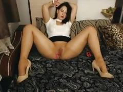 Masturbation, Nylon, Orgasme, Russe