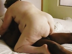 Real bbw wife nasty butt riding bbc