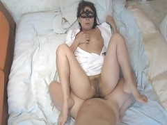 Active Oral Nurse's Typical Style Play Sticky creampie