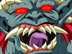 Anime babe vag reward for saviour