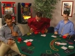 Horny Guys Gamble Till They're all Naked