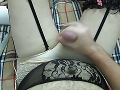 cumming over me and lingerie
