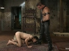 Dylan Deap gets his ass brutally beaten and fucked in BDSM clip