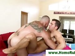 Gay straight oil hard cock anal cock ring fuck