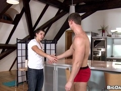 Horny queers Thomas and Greg have 69 oral sex and fuck in missionary pose