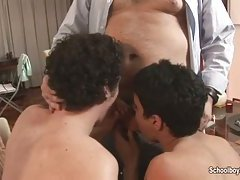 Hot gay casting with twinks