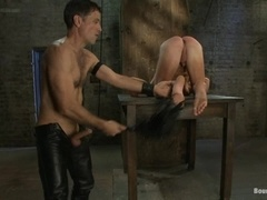 Handsome gay Master Avery plays BDSM games with Patrick Rouge
