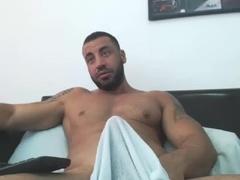 Arab Manbeast Edges His massive penis