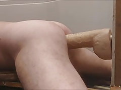 Hung rider dildo fucked very hard
