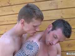 Marek makes out with his BF and gets his gay ass drilled from behind