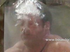 Derek Pain bound and tortured