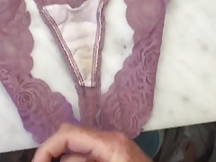 Brother's wife's dirty panties