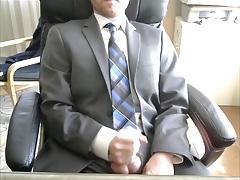 Gray Suit, Blue Tie, Public Office Jerk